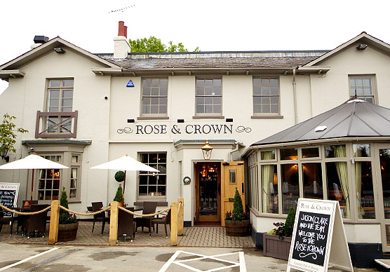 The Rose and Crown in Dunton Green